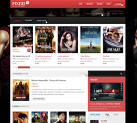 JM Pixeri - Movie Shop Magento Theme
