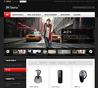 JM Sterix - Magento mobile accessories theme