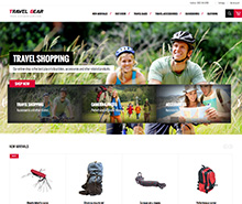 JM TravelGear - Responsive Magento theme for sports stores