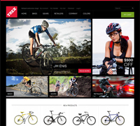 JM Trex - Free Responsive Magento Bike accessories theme